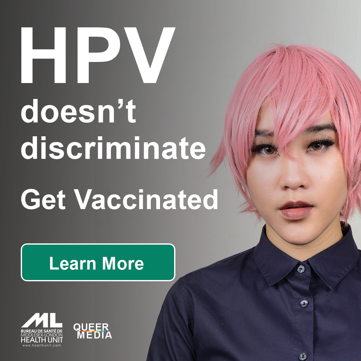 QueerEvents.ca - HPV Prevention Campaign