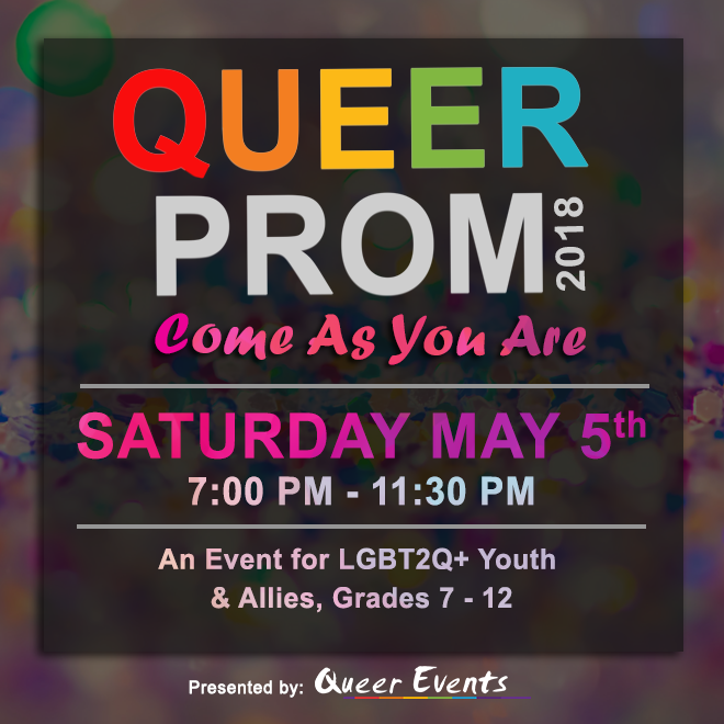 Queer Events presents Queer Prom 2018