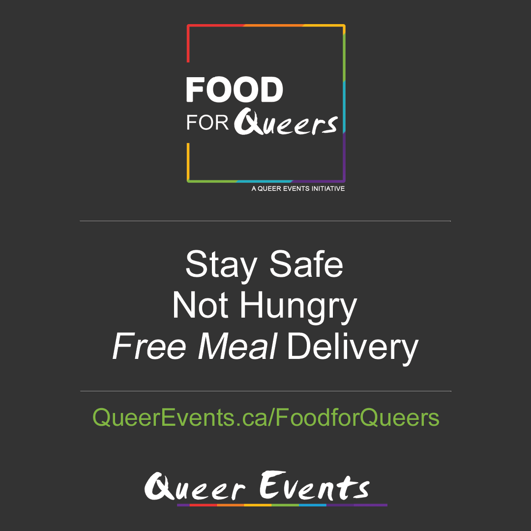 Queer Events Community Program Food for Queers