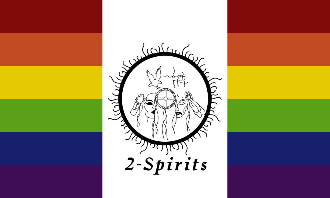 QueerEvents.ca - Queer Flags - Two Spirit Flag Image