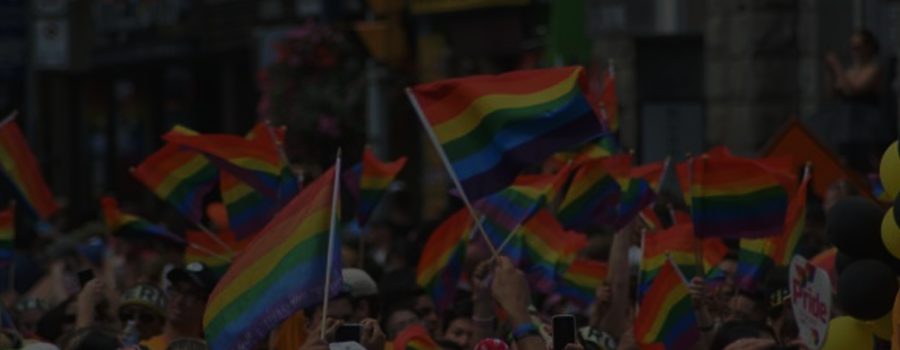 QueerEvents.ca - History of Pride Flag - Post Banner