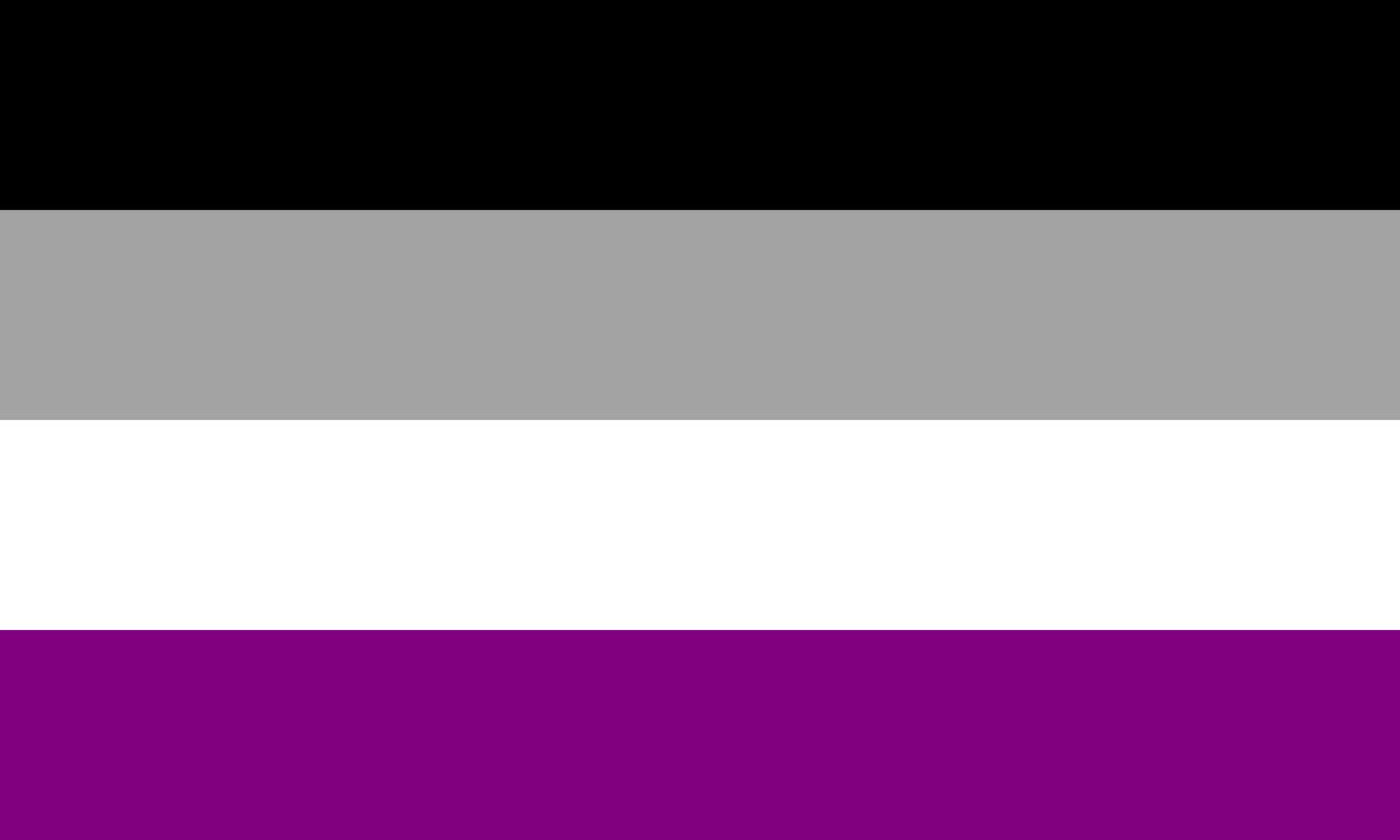 QueerEvents.ca - Queer Flags - Asexual Flag Image