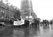 QueerEvents.ca - queer hisotry - gay rights protest ottawa 1971